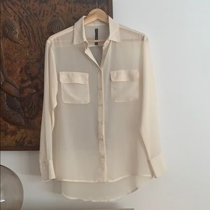 Walter baker blouse: nude color